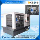 ATC Metal Moulding Machine do CNC de Acctek Akm6090h Good Performance Cast Iron Body com Two Spindles