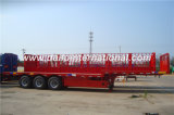 3 Behälter-Transport-halb Schlussteil des Fuwa Wellen-Flachbett-40FT