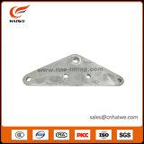 Hot-DIP гальванизированная плита хомута стального треугольника стальная