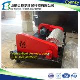 Centrifugador de secagem contínuo do filtro chinês popular