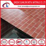 PPGI 강철 코일을 인쇄하는 회색 붉은 벽돌 패턴