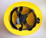 백색 아BS 물자 산업용 작업 송풍된 방어적인 헬멧 Ce397