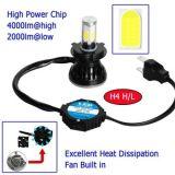 고품질 최고 광도 80W 8000lm 9-36V LED 기관자전차 헤드라이트, H4 H7 H11 9005 9006의 LED 헤드라이트
