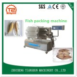Inclinación del equipo doble Dz500-Q del embalaje del vacío de los pescados del compartimiento