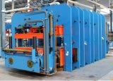 Prensa de goma de la banda transportadora de la máquina de Vulcanizier de la hoja
