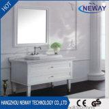 純木の骨董品のホテルの浴室の家具を立てる新しい床