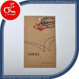 Fabbrica Price Kraft Paper Tag per Garment Tag/Jeans