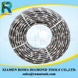 De Zagen van de Draad van de diamant voor het Graniet die van het Blok van het Graniet het Snijden uithakken