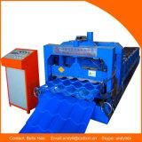 Máquina de formação de rolos frios para azulejos para construção de telhado