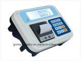 Indicador de peso eletrônico com impressora térmica