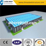 低価格の速いインストールプレハブの産業鉄骨構造の倉庫か研修会または格納庫または工場