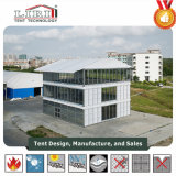 Der erste Dreiergruppen-Decker-Zelt-Entwurf in China für VIP-Ereignisse