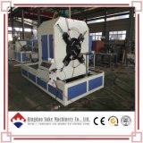 PE/PVC 두 배 벽 기계 Suke를 만드는 물결 모양 관 밀어남