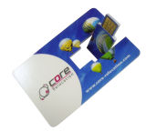 USBのクレジットカードの名刺USB駆動機構