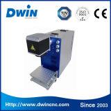 Machine d'inscription de laser de fibre de FDA de la CE pour l'acier inoxydable, Alumnium, métal, ABS, gravure en plastique