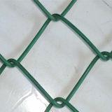 Загородка для обеспеченности, хайвей PVC покрынная или гальванизированная звена цепи, Commerical, селитебное, школы, конструкция