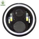 """Redondo linterna del LED de 12V 24V de calidad superior 7 """" para la motocicleta"""