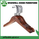 Gancio superiore di legno del vestito senza barra (WHG-A05)