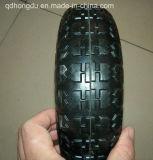 Línea rueda de goma sólida de la pisada ancha del modelo