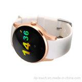 Téléphone intelligent imperméable à l'eau de montre de forme ronde avec Bluetooth 4.0 (K88S)
