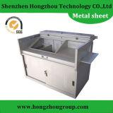 Fabricação de metal personalizada da folha para a tampa de máquina