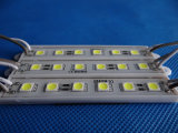 DV12V 5050 módulo de 6 virutas LED para la muestra del metal