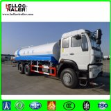 販売のための燃料のタンク車6 x 4 336HPを運転する左手石油タンカーのトラック
