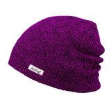 編まれたラベルが付いているカスタム多彩なFlexfitのだらしない帽子の帽子