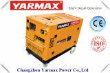 세륨 7.5kw 7.5kVA 최고 가격을%s 가진 Yarmax 휴대용 침묵하는 디젤 엔진 발전기