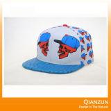 3D刺繍販売のための6つのパネルの急な回復の帽子