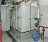 Conteneur type boulon sectionnel carré de l'eau du réservoir d'eau de SMC/GRP