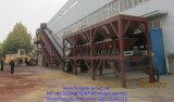 Planta de procesamiento por lotes por lotes concreta móvil de Hongda con la salida 100m3/H