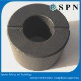 Anelli multipolari isotropi del magnete del ferrito per il motore facente un passo