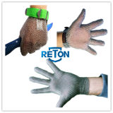 Отрежьте нержавеющую сталь Mesh Glove Resistant Working для Butcher/Stainless Steel Wire Mesh Safety Gloves