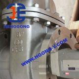 Valvola a saracinesca industriale della flangia del cuneo dell'acciaio inossidabile del volante di API/DIN