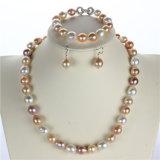 Monili poco costosi di prezzi 925silver di Snh, commercio all'ingrosso stabilito della perla
