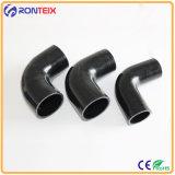 90 gradi tubo flessibile del silicone di rinforzo 4 pieghe