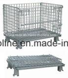 Recipiente de armazenamento do engranzamento de fio de aço