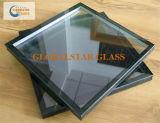 vetro isolato temperato 6+12A+6mm per costruzione