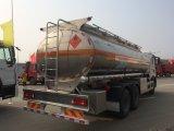 Caminhão de petroleiro de alumínio do combustível de Sinottruk HOWO T5g 6X4