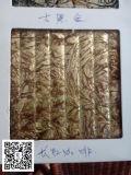 Goldfolien-Glas, dekoratives Glas, Kunst-Glas