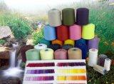 Il fornitore della fabbrica comercia il filato all'ingrosso filato anello 100% del poliestere di 16s/1 21s/30s/1 per il lavoro a maglia e tessere