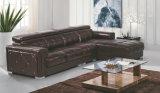 Sofá de cuero del modelo nuevo, Recliner moderno L sofá de la dimensión de una variable (GB01)