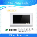 La porte visuelle de moniteur d'intérieur à 2 fils d'IP de Dahua téléphone (VTH5222CH)