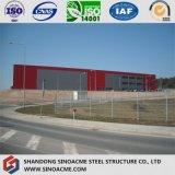 Светлая стальная структура для мастерских