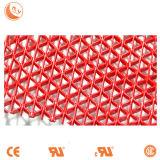 Stuoia antiscorrimento del PVC S del rullo della stuoia del PVC della maglia di colore di uso di Comercial in Rolls con il mucchio di nylon