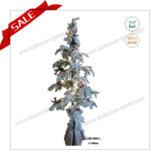 Decoração artificial da árvore de Natal do PE com luzes do diodo emissor de luz