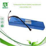 24V 12ah de IonenBatterij van het Lithium voor Elektrische Fiets, e-Fiets, Elektrische Fiets