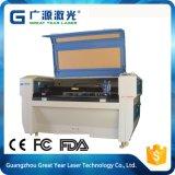 Máquina manual modelo acrílica do laser do cortador de papel