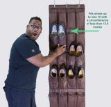 Schuh-Organisator über der Tür